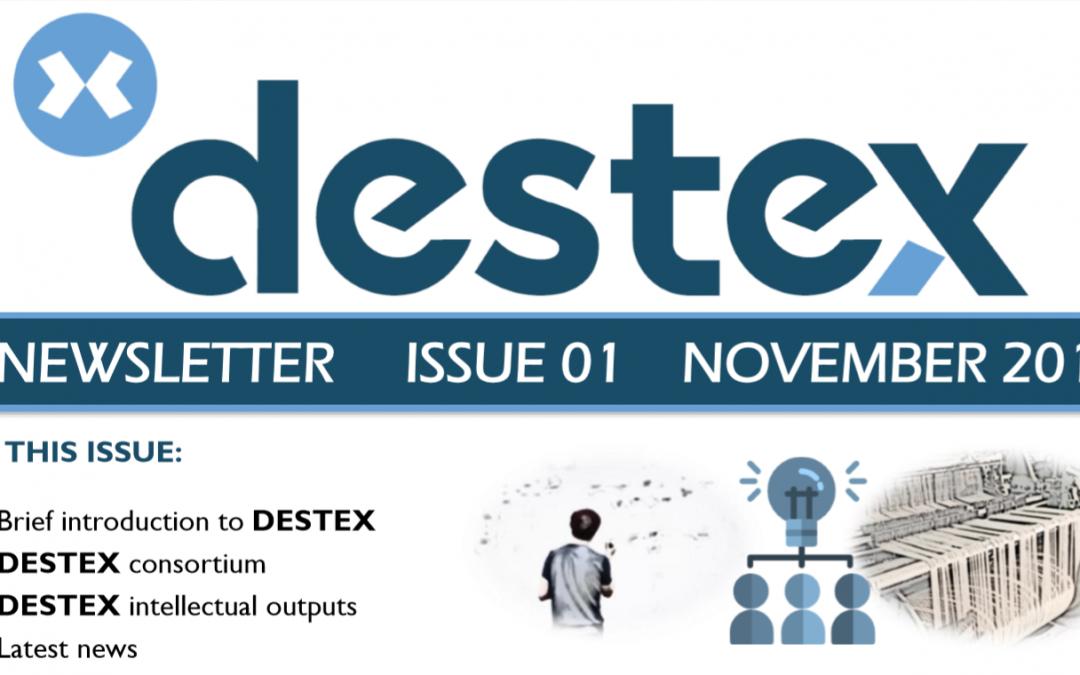 First DESTEX newsletter available!