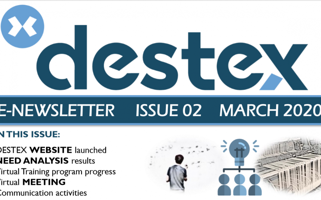 Second DESTEX newsletter available!