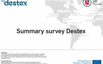 Outcomes of the IO1 survey published