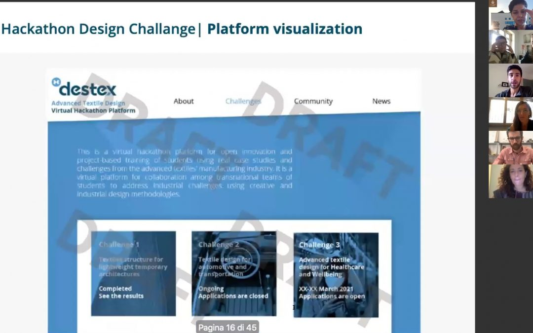 Follow-up Destex virtual meeting